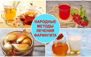Фарингит народные средства / народная медицина