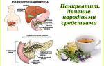 Панкреатит лечение народными средствами / народная медицина