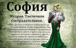 Что означает имя софья – характеристика имени софья, толкование имени софья