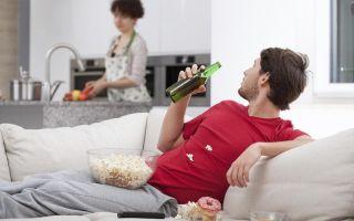 Муж — лентяй. что делать женщине?