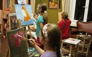 Посильная помощь художественной школы