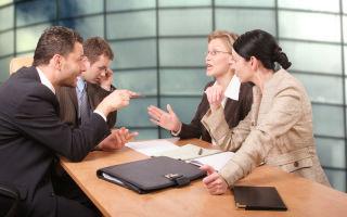 Как вести себя в деловых спорах