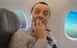 Как справиться с боязнью летать на самолете? — страх летать на самолете. авиафобия