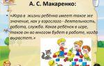 Психологические игры для дошкольников
