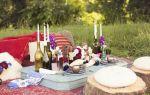 3 идеи для романтического пикника