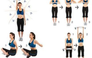 Простые упражнения  для укрепления и  увеличения груди