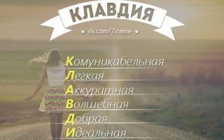 Что означает имя клавдия – характеристика имени клавдия, толкование имени клавдия