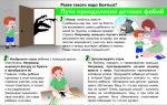 Как преодолеть детские фобии