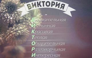 Что означает имя виктория (вика) – характеристика имени, толкование имени