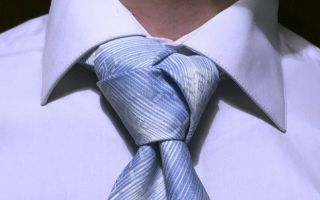О чем расскажет мужской галстук