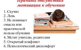Недостаток мотивации: в чем причина?