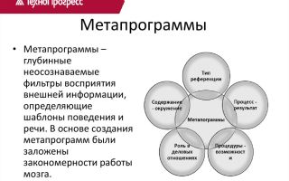 Паттерн выявление мета-программ и подстройка под них