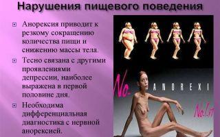 Расстройства пищевого поведения: симптомы и признаки
