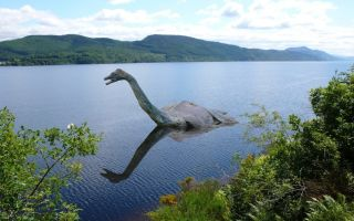История лох-несского чудовища, обитающего на озере лох-несс